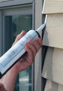 DIY: How To Use Elastomeric Caulk - sealing your home's exterior correctly and with the right materials cuts down on heating and cooling losses and minimizes water damage. This post explains what to look for when buying and applying exterior caulk.
