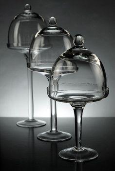 cupcake glass bell jars
