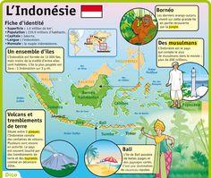 Fiche exposés : L'Indonésie