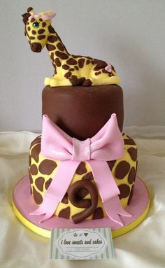 1000 Images About Giraffe Cakes On Pinterest Giraffe