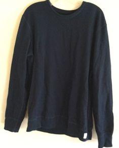 Reigning Champ Crewneck Sweatshirt - Men's Navy L    eBay