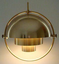 Louis Weisdorf, Pendant Lamp for Lyfa, 1950s.