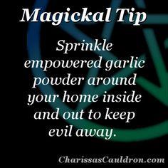 Magickal Tip - Garlic Protection – Charissa's Cauldron