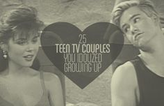 """""""25 Teen TV Couples You Idolized Growing Up""""- ahh, the good ol' days, when every girl wanted to be Kelly Kapalski and date Zach or Kimberly, the pink ranger and date the green/white ranger, Tommy!"""