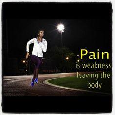Pain...