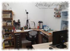 Studio, Corner Desk, Crafty, Furniture, Home Decor, Corner Table, Decoration Home, Room Decor, Studios