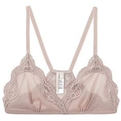 Vanessa Bruno / Lace Bra ($78) ❤ liked on Polyvore featuring intimates, bras, lingerie, underwear, women, vanessa bruno, racer back bra, lace lingerie, lace bra and lace racerback bra