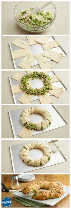 This Cheesy Chicken and Broccoli Crescent Ring is a guaranteed family favorite! Follow our easy steps to impress your loved ones.