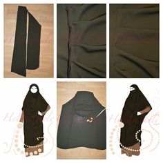 I will help you to design your overhead abaya and jilbab. See possible ideas on our site!