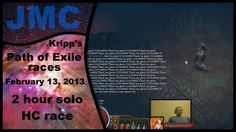 Kripp's Path of Exile races - Feb 13, 2013 - 2h Solo HC race (Calibration) | #Games #VideoGames #PathofExile #Video #Videos
