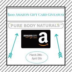 $100 Amazon Gift Card Giveaway {US} (4/12/2017) via... sweepstakes IFTTT reddit giveaways freebies contests
