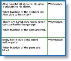 Math worksheets with word problems for grade 3 students