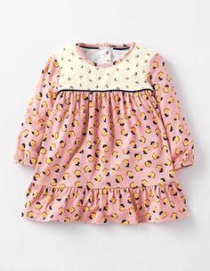 Vintage Pink Bud Floaty Hotchpotch Dress Boden
