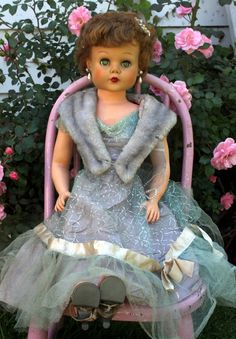 My older sister had a doll like this. I tried my best to sneak it out of the box to play with it.