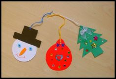 Great Christmas Craft Activity for Kids - Christmas Gift Tag Tutorial
