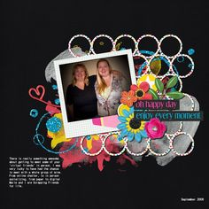 Layout created using Melissa Bennett's kit Happy Life - Available @ Sweet Shoppe Designs. http://www.sweetshoppedesigns.com/sweetshoppe/manufacturers.php?manufacturerid=18