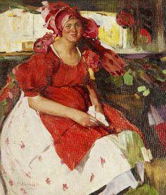 Filipp Andreevich Malyavin (1869~1940) | Impressionism, Expressionism, Art Nouveau
