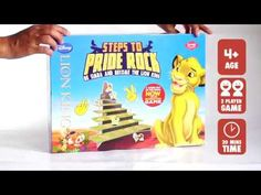 "Kaadoo Disney Lion King-""Steps To Pride Rock"" Improves spatial awareness & mental agility. Play with your favourite Disney characters and Relive the Lion King. Disney Games, Disney Movies, Disney Characters, Top Ride, Pride Rock, Disney Lion King, Tabletop Games, Games To Play, Your Favorite"