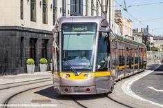 Luas Tram Near Heuston Station (Dublin) by infomatique, via Flickr