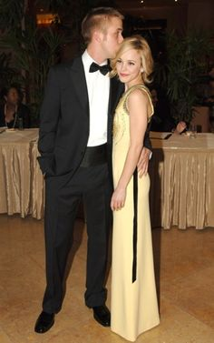 Rachel McAdams and Ryan Gosling I hope they get back together one day