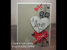 """Links to all the supplies used can be found here:  http://prairiepaperandink.typepad.com/amyr/2012/01/2012-valentine-card-series-card-1-video.html    to friend me on Facebook """"like"""" my page here:  http://www.facebook.com/pages/Prairie-Paper-Ink/182064968488427    you can subscribe for e-mail updates on my blog here:  http://prairiepaperandink.ty..."""