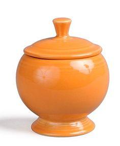 Fiestaware! pedestal sugar bowl