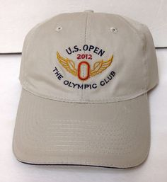 cd2dbf8da24 new 2012 US OPEN THE OLYMPIC CLUB HAT Khaki Relaxed Fit Golf USGA Member  Mens