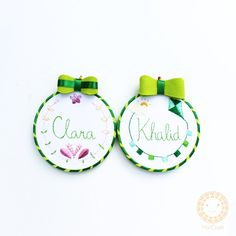 Children Rooms Hoop Embroidery. Home decor ideas by Miki Craft