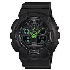 Orologio subacqueo con profondità garantita di 200 metri, varie funzioni tra le quali cronografo, allarme, timer, fusi orari, qualità certificata Casio G-Shock
