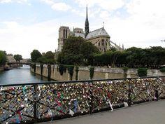 Love padlocks, Pont de l'Archevêché, Paris