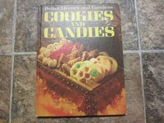 Vintage 1969 HC Better Homes & Gardens Cookies and Candies Cookbook in Books, Cookbooks | eBay