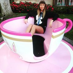 I'm your cup of tea #disneyland #teacups by duhhkaptain
