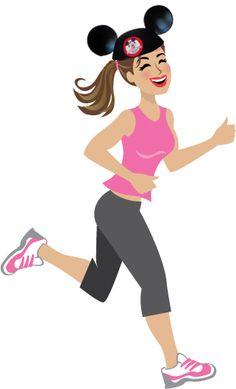 Run Disney marathon Disney Races, Run Disney, Disney Fun, Disney Running, Disney Movies, Disney Princess Half Marathon, Disney Marathon, Academia Fitness, Disney Cast