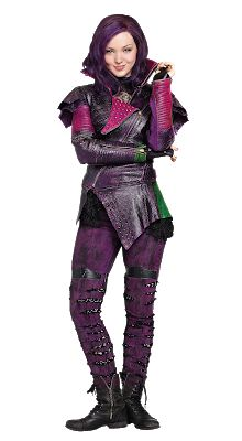A gallery of Descendants publicity stills and other photos. Featuring Dove Cameron, Sofia Carson, Booboo Stewart, Cameron Boyce and others. The Descendants, Costume Descendants, Disney Descendants Movie, Disney Channel, Personajes Monster High, Mal And Evie, Disney Decendants, Purple Halloween, Halloween 2015