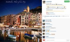 InstaItalia awards my Portovenere, Italy image Photo of the Day! by Katina Houvouras