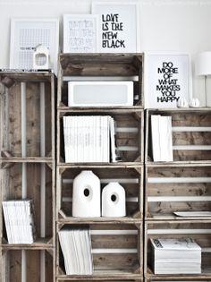 Regines kreativiteter: Tenk at MINE kreativiteter skal på glanset papir...