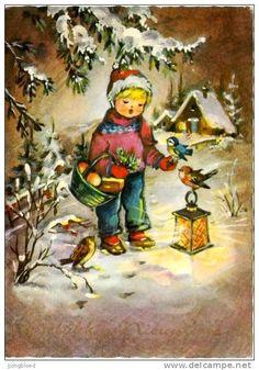 Postcards > Topics > Illustrators & photographers / christmas - Delcampe.net
