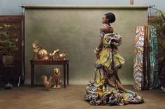 I absolutely love Vlisco whose gorgeous fabrics are mostly sold in Africa. here are some stunning photo examples by koen-hauser-for-vlisco-06