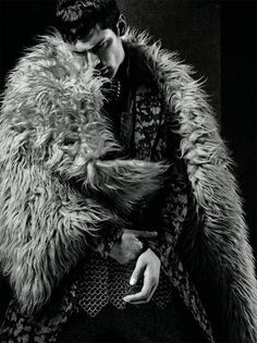 Sean O'Pry by Jack Waterlot for L'Officiel Hommes Middle East