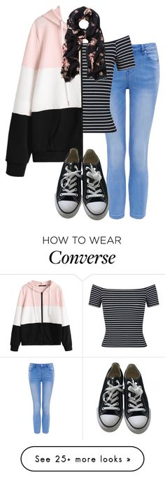 """Requested - Abi: over tights 2"" by stephlv on Polyvore featuring Miss Selfridge, Converse and Witchery"