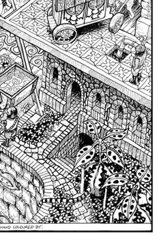 wildergorn colour in posters colouring posters coloring posters colouring color in coloring coloring coloring poster art doodle felt tip - Lord Of The Rings Coloring Book