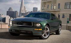 """""""Highland Green"""" ist die Farbe für den legendären """"Bullitt""""-Mustang – hier die Neuauflage von 2008"""