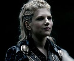 i cant wait to experiment more and more with this look! Lagertha Lothbrok, Vikings Lagertha, Viking Braids, Tribal Hair, Katheryn Winnick, Shield Maiden, Film Strip, Viking Jewelry, Plaits
