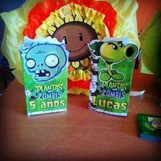 Bolsitas golosineras plantas vs zombies