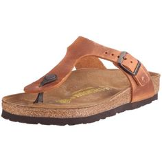 BIRKENSTOCK Gizeh Womens Antique Brown Leather Thongs 40 EU (7-7.5 R US Men/9-9.5 R US Women) * Check out the image by visiting the link.