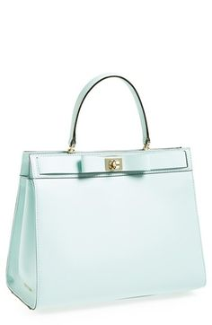 kate spade new york 'mayfair drive tullie' leather satchel available at #Nordstrom