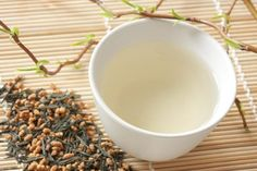 What Are the Health Benefits of green tea and roasted brown rice.