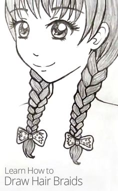 braid drawing side braids and kristina webb on pinterest
