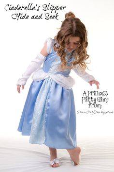 It's a Princess Thing: Hide and Seek Cinderella's Slipper - A princess party game