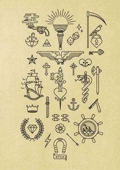 Mi numerografía esta basada en los Tattoo Flash que se exhiben en las paredes de salones de tatuajes o en carpetas que sirven no sólo de decoración sino para dar ideas a los clientes sobre el diseño que quisieren tatuarse.Siempre me han llamado mucho la …